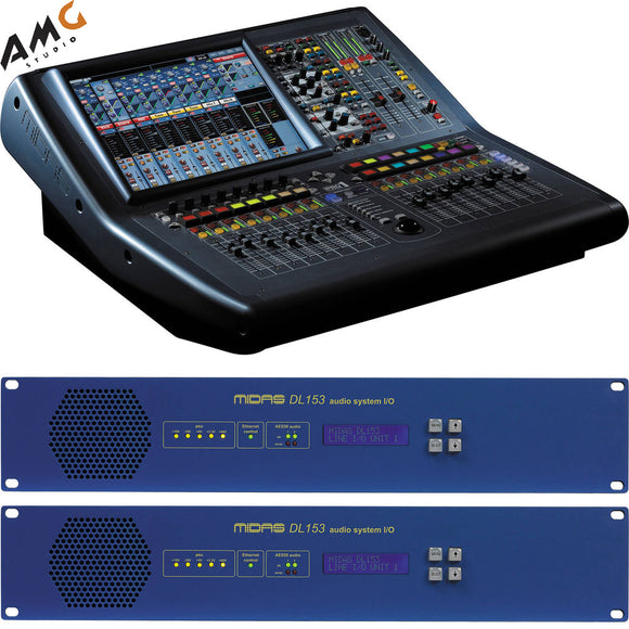Midas PRO1 Install Bundle Live Sound Digital Console with Two Stageboxes - Studio AMG