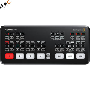 Blackmagic Design ATEM Mini Pro HDMI Live Stream Switcher SWATEMMINIBPR - Studio AMG