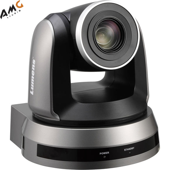 Lumens 20X Optical Zoom PTZ Video Conferencing Camera (Black or White) - Studio AMG