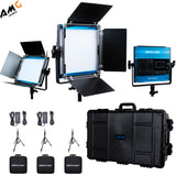 Dracast X-Series 500 Bi-Color 3-LED Panel Kit with Hard Case #DRX3500BNH