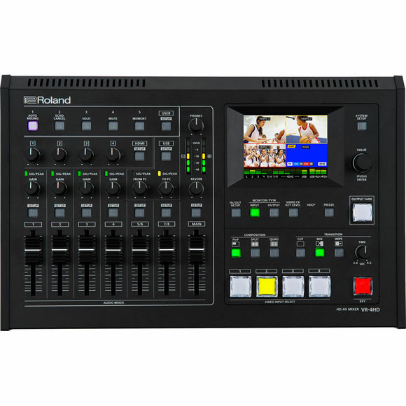 Roland VR-4HD HD AV Mixer Audio/Video Mixer With USB Streaming - Studio AMG