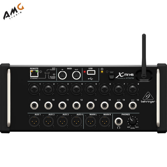 Behringer X Air XR16 16-Input Digital Mixer for iPad/Android Tablets with Wi-Fi - Studio AMG