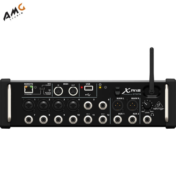 Behringer X Air XR12 12-Input Digital Tablet Interface Mixer for iPad/Android - Studio AMG