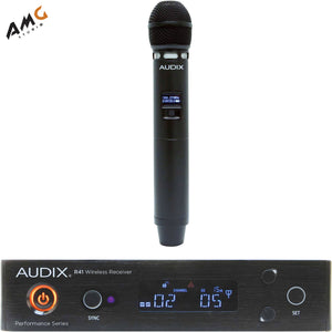 Audix AP41 Performance Series Single-Channel Wireless Handheld System AP41 VX5-B - Studio AMG