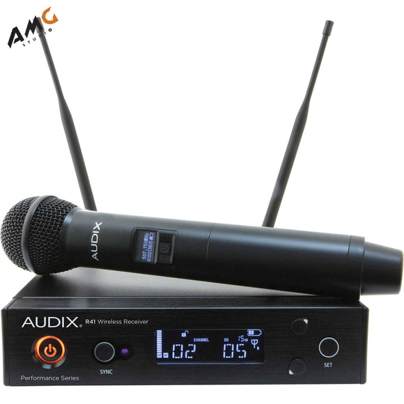 Audix AP41OM5B Handheld Wireless Microphone Professional System - Studio AMG