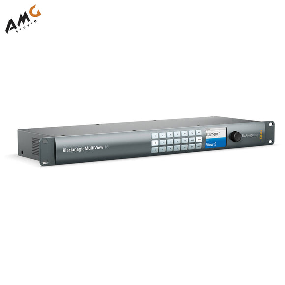 Blackmagic Design Processor MultiView 16 HDL-MULTIP6G/16 - Studio AMG