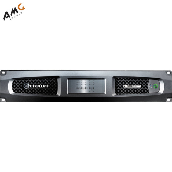 Crown Audio DCI 4/300 DriveCore Install Analog Series 4-Channel Amplifier 300 W - Studio AMG