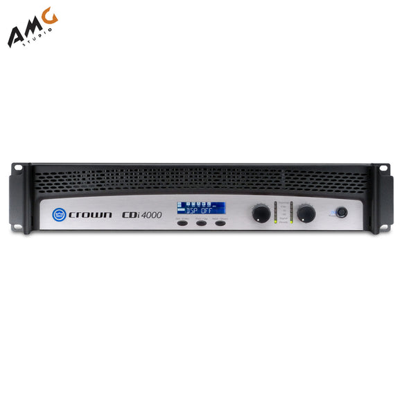 Crown Audio CDi4000 Solid-State 2-Channel Amplifier Power 1200W Per Channel - Studio AMG