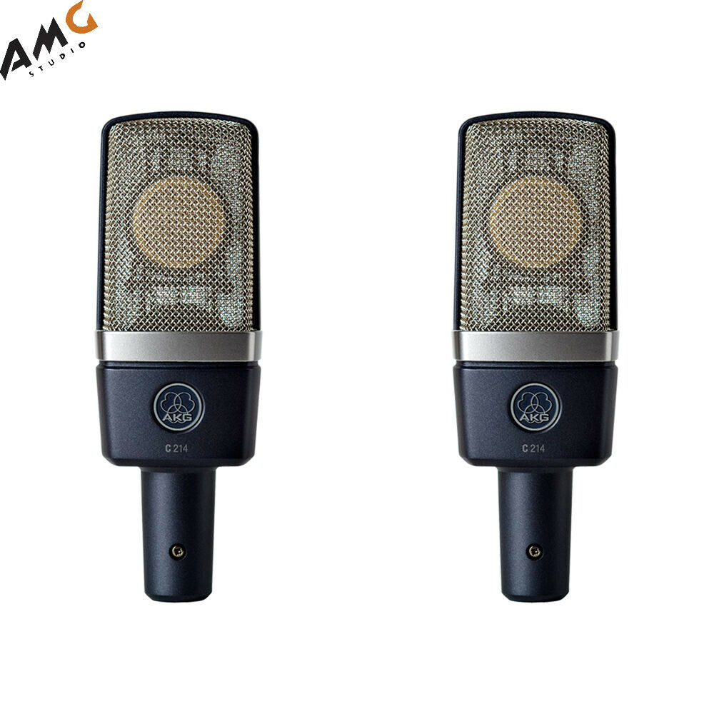 AKG C214MP Large-Diaphragm Condenser Microphone Matched Pair 3185X00110