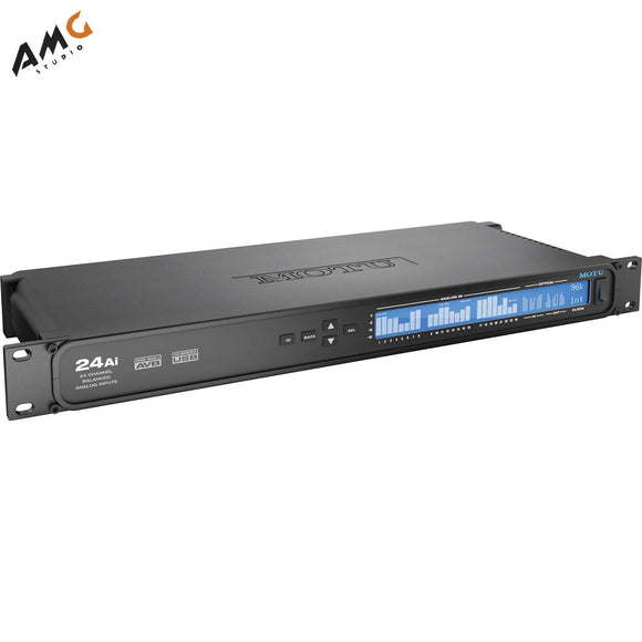 MOTU 24Ai - USB/AVB 72 Channel Audio Interface 9330 - Studio AMG