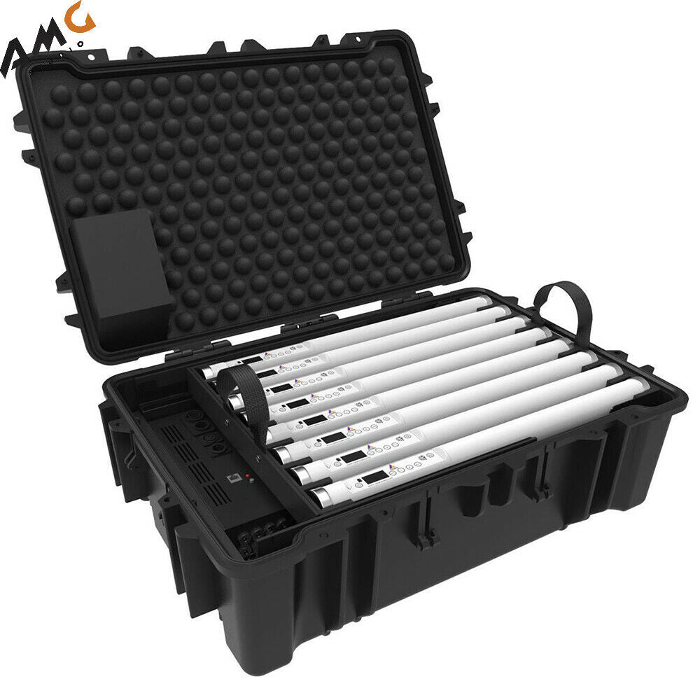 Astera Helios Film Lighting Tube with Charging Case for TV and Broadcasting, 8-P FP2-SET