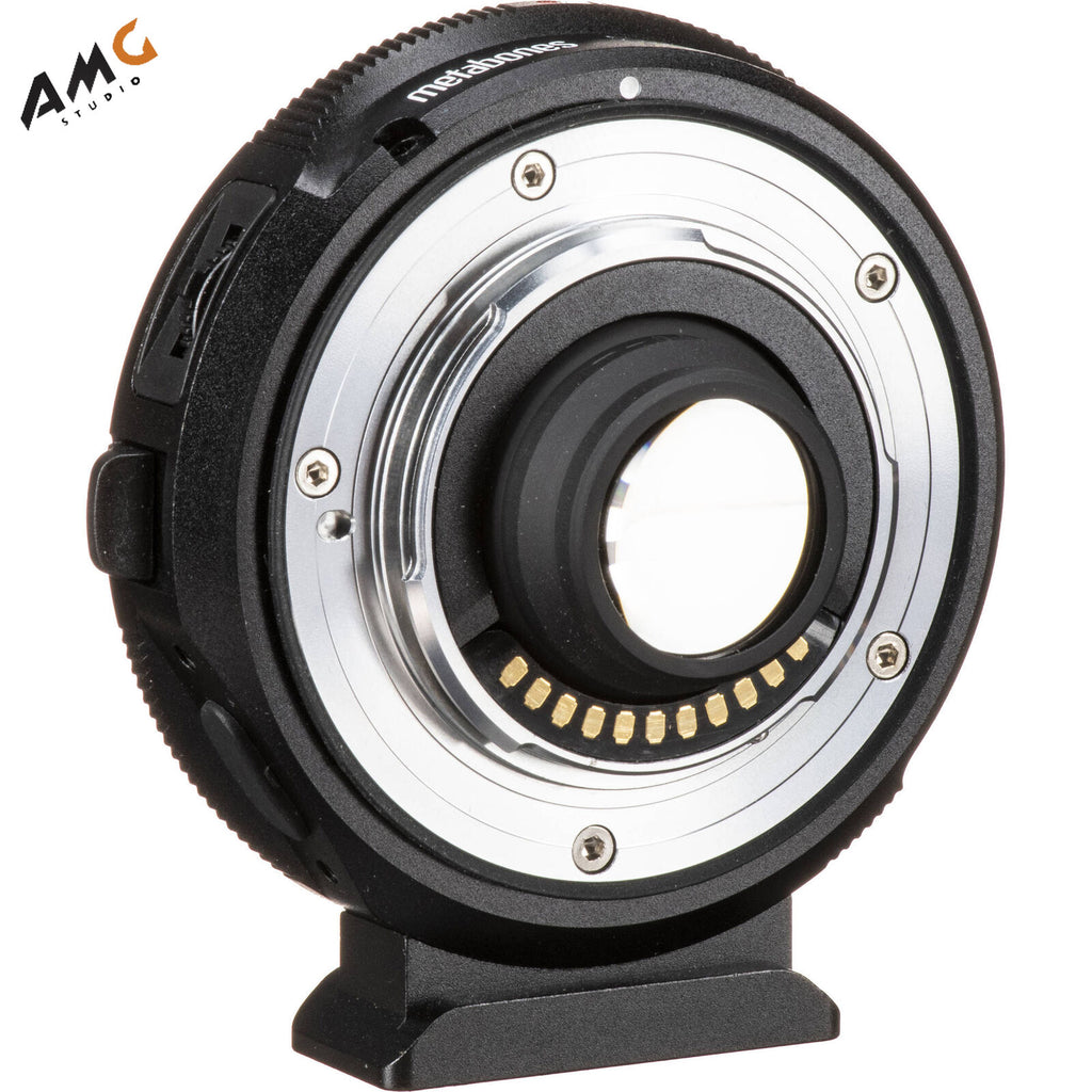 Metabones Canon EF to MFT T Lens Adapter 0.58x for Blackmagic Design Super 16 Cameras