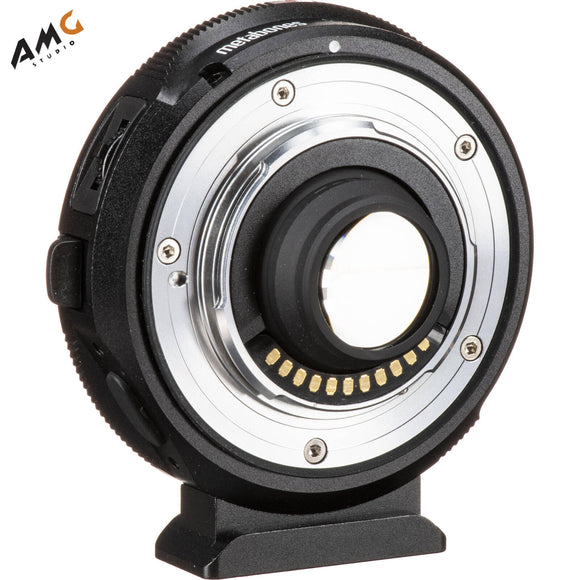 Metabones Canon EF to MFT T Lens Adapter 0.58x for Blackmagic Design Super 16 Cameras - Studio AMG