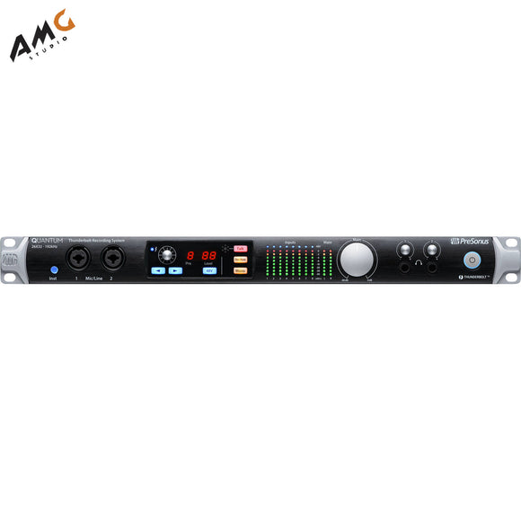 PreSonus Quantum 26x32 Thunderbolt 2 Low-latency Audio Interface - Studio AMG