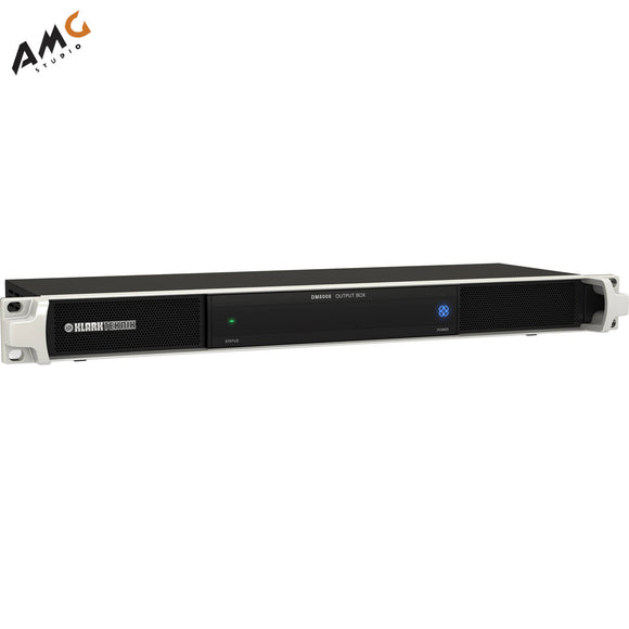 Klark Teknik 8-Channel Analog Output 1-Rackmount Unit Box Over ULTRANET DM8008 - Studio AMG