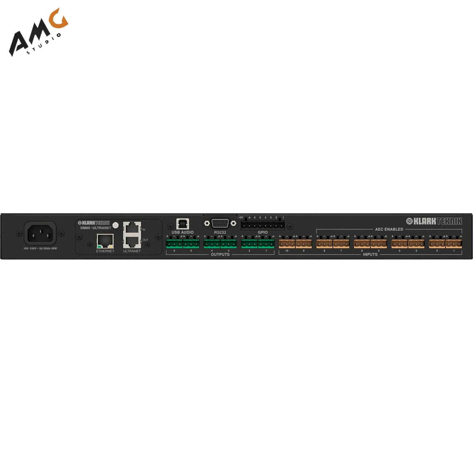 Klark Teknik DM8000 Advanced Digital Audio Processor 1RU