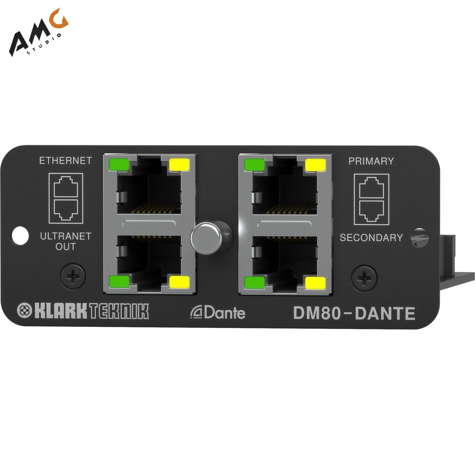 Klark Teknik DM80-DANTE - Dante Expansion Module for DM8000 Processor DM80DANTE - Studio AMG