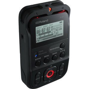Roland R-07 Handheld Portable Digital Field Audio Recorder 6-Channel - Studio AMG