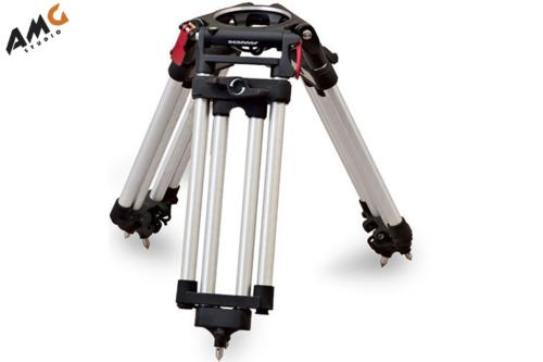 OConnor C12210004 Cine HD 1-Stage Aluminum Alloy Baby Tripod (150mm) - Supports 309 lbs (140 kg)