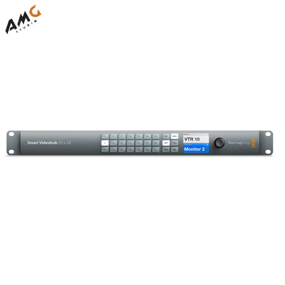 Blackmagic Design Smart Videohub 20 x 20 6G-SDI VHUBSMART6G2020 - Studio AMG