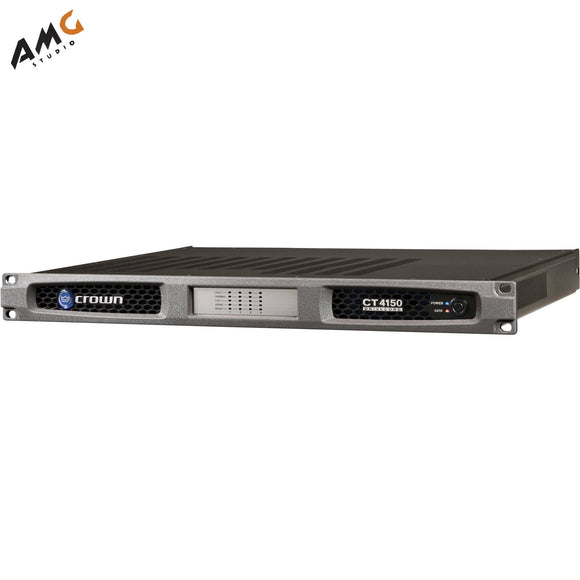 Crown Audio CT4150 4-Channel Rackmount Power Amplifier 150W/Channel @ 8 Ohms - Studio AMG