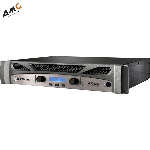Crown Audio XTi 4002 Power Stereo Amplifier 650W Per Channel Amp - Studio AMG