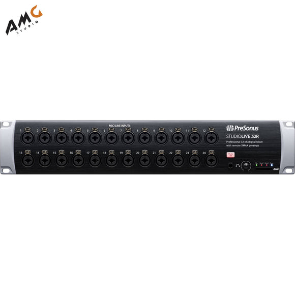 PreSonus StudioLive 32R - 34-Input, 32-Channel Series III Stage Box & Rack Mixer - Studio AMG