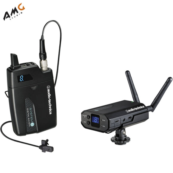 Audio-Technica ATW-1701/L 10 Digital Camera-Mount Wireless Omni Lavalier System - Studio AMG
