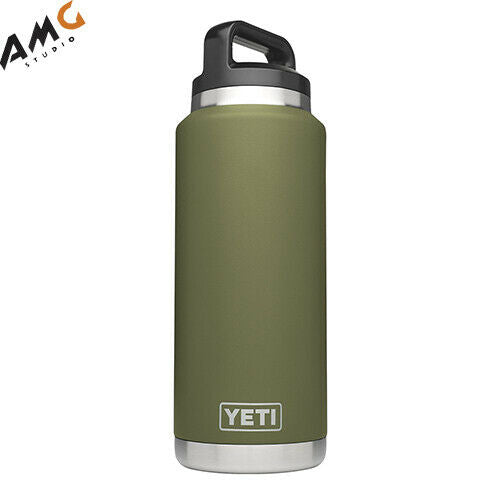 YETI Rambler 36oz Vacuum Insulated Stainless Steel Bottle with Cap YRAM36OG - Studio AMG