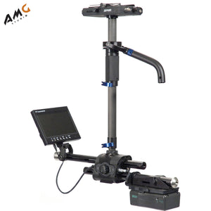 "Steadicam Zephyr Camera Stabilizer with 7"" HD Monitor, Standard Vest & V-Mount Plate - Studio AMG"