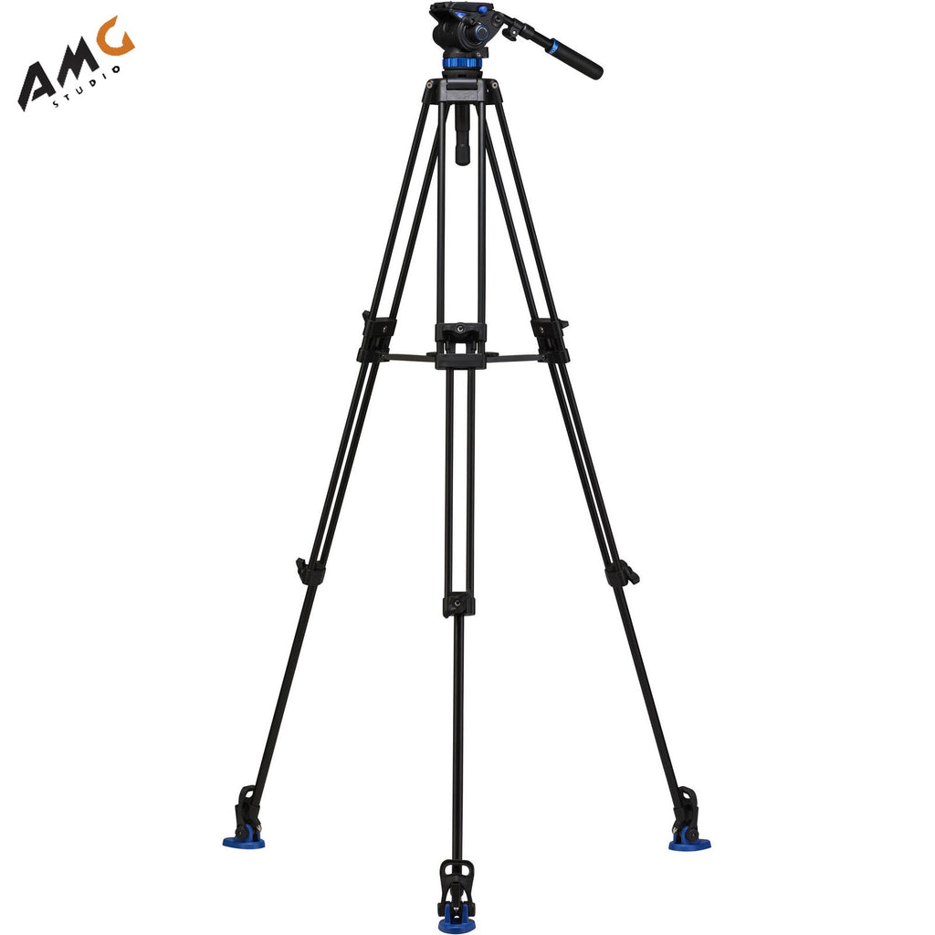 Benro S7 Dual Stage Video Aluminium Legs Tripod Kit  A573TBS7