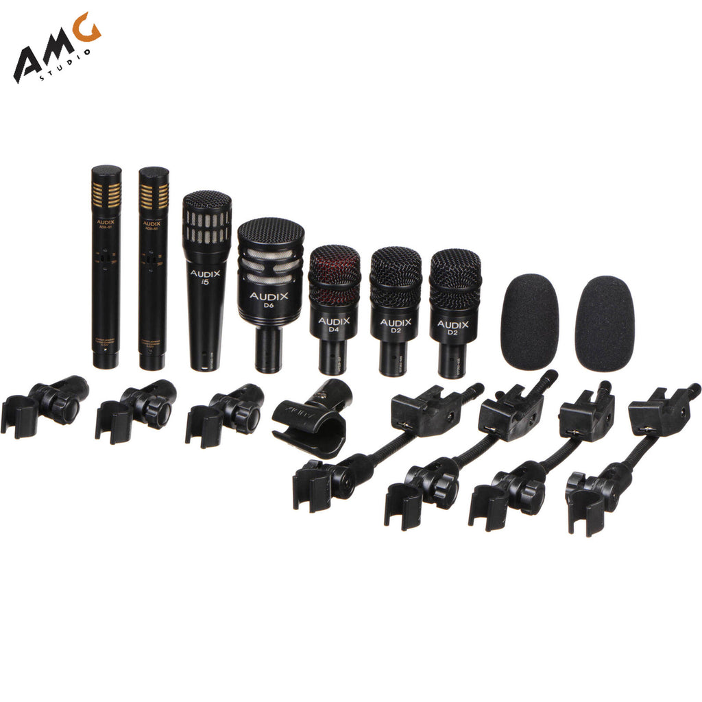 Audix DP7 - Professional Seven Piece Drum Condenser Microphone Kit  DP-7