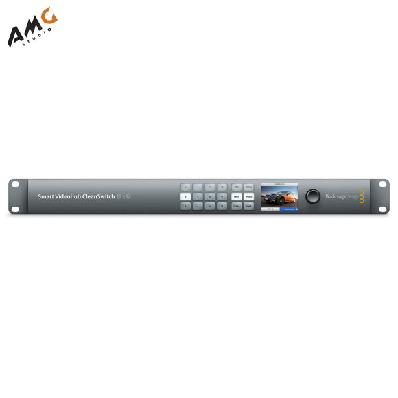 Blackmagic Design Smart Videohub CleanSwitch 12 x 12 6G-SDI VHUBSMTCS6G1212 - Studio AMG