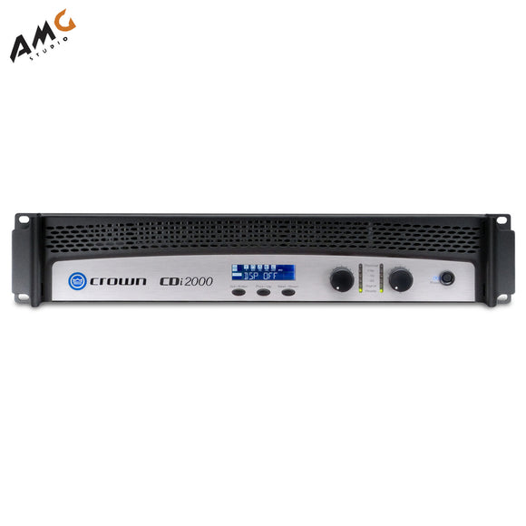 Crown Audio CDi2000 Solid-State 2-Channel Stereo Amplifier 800W Per Channel - Studio AMG
