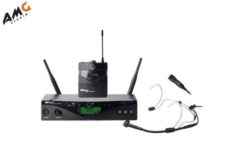 AKG WMS 470 Presenter Set Wireless Microphone System 48 channels 3309H00370 - Studio AMG