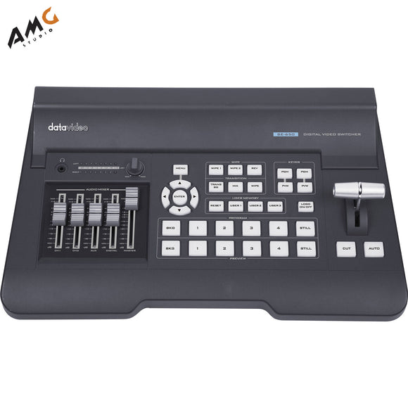 Datavideo SE-650 HD 4-Channel Digital Video Switcher - Studio AMG