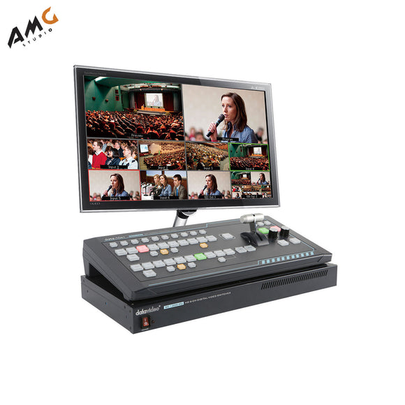 Datavideo SE-1200MU 6-Input Switcher and RMC-260 Controller Bundle - Studio AMG