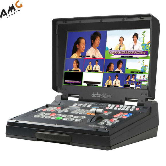 Datavideo HS-1300 6-Channel HD Portable Video Streaming Studio - Studio AMG