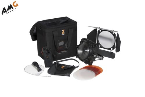 Zylight F8-D LED Fresnel Single Head ENG Kit with Gold Mount - Studio AMG
