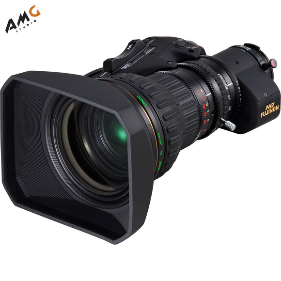 Fujinon ZA22x7.6BERD-S6 with Servo for Focus and Zoom - Studio AMG