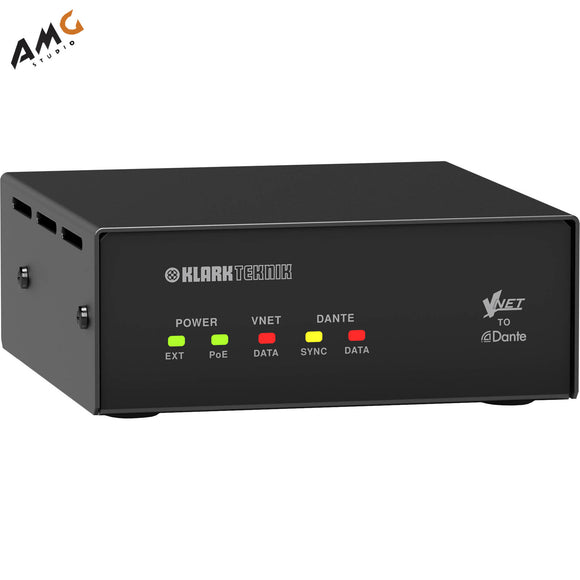 Klark Teknik VNET2-DANTE BRIDGE for Dante Sources VNET2DANTEBRIDGE - Studio AMG