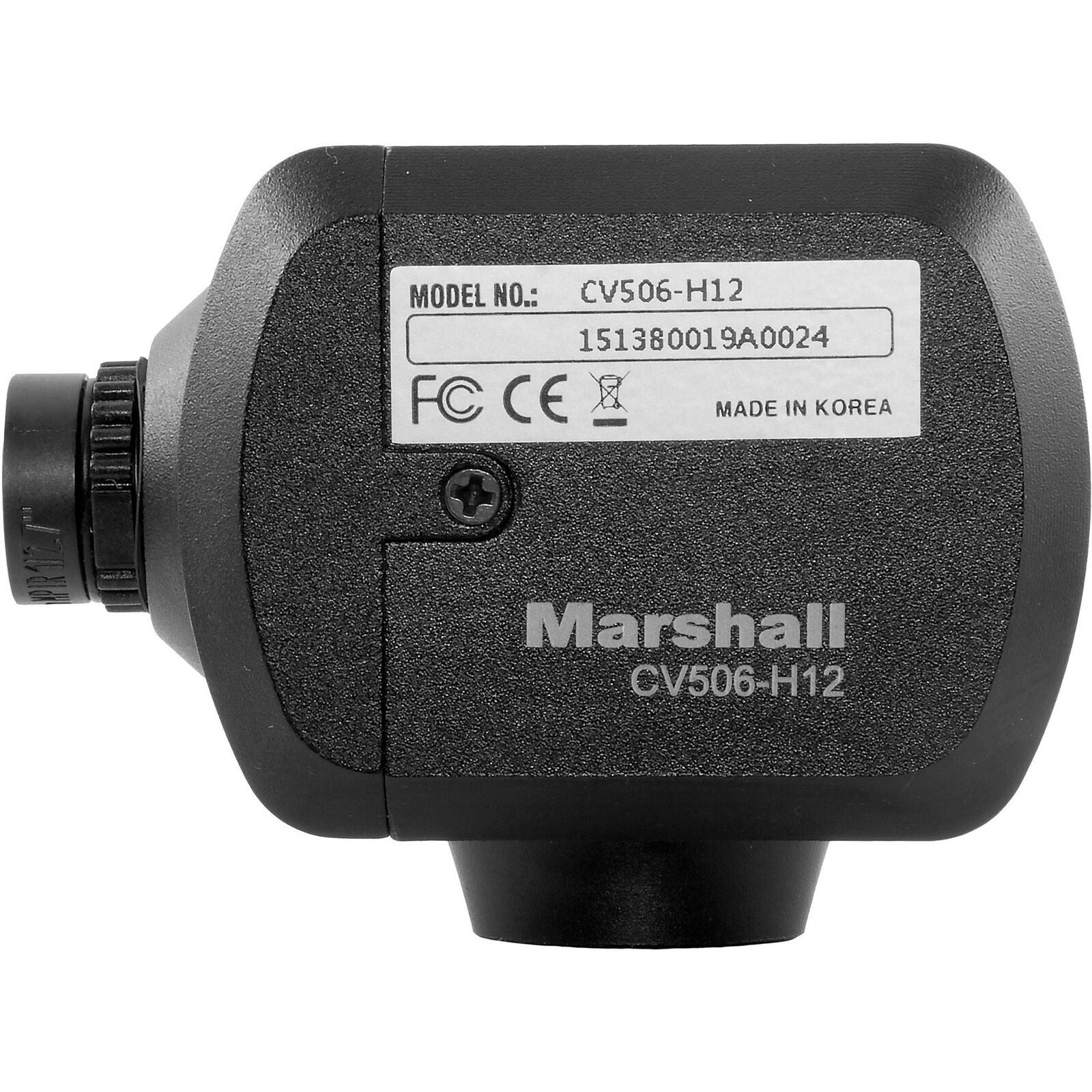 Marshall Electronics CV506-H12 Miniature High-Speed Broadcast Compatible Camera - Studio AMG
