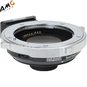 Metabones T CINE Speed Booster ULTRA 0.71x Adapter for Canon EF Lens to BMPCC 4K Camera - Studio AMG