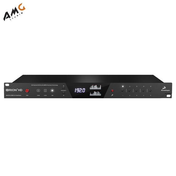 Antelope Orion32 HD | Gen 3 32-Channel AD/DA HDX & USB 3.1 Gen 1 Audio Interface - Studio AMG