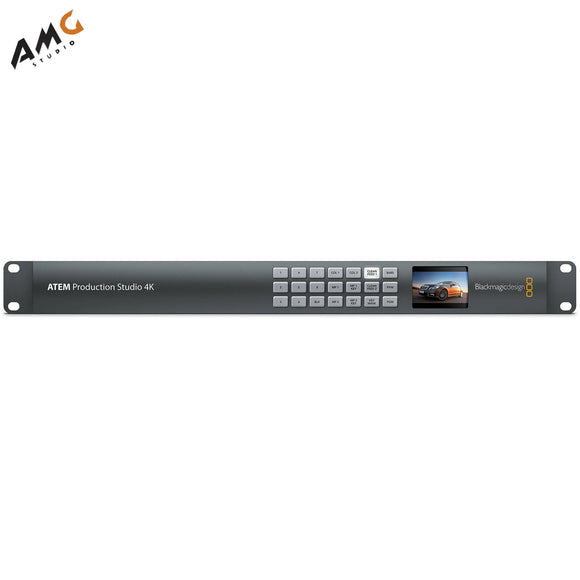 Blackmagic Design ATEM Production Studio 4K HDMI Live Switcher SWATEMPSW04K - Studio AMG