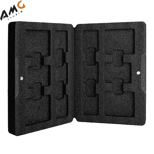 Angelbird Media Pouch for 6 SD, 4 CFast and 2 XQD (Black) - Studio AMG