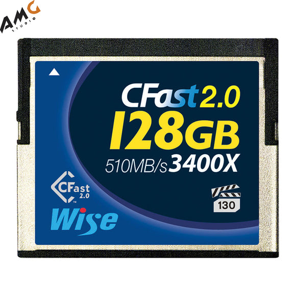 Wise Advanced 128/256/512GB/1TB CFast 2.0 Memory Card (2-Pack) - Studio AMG