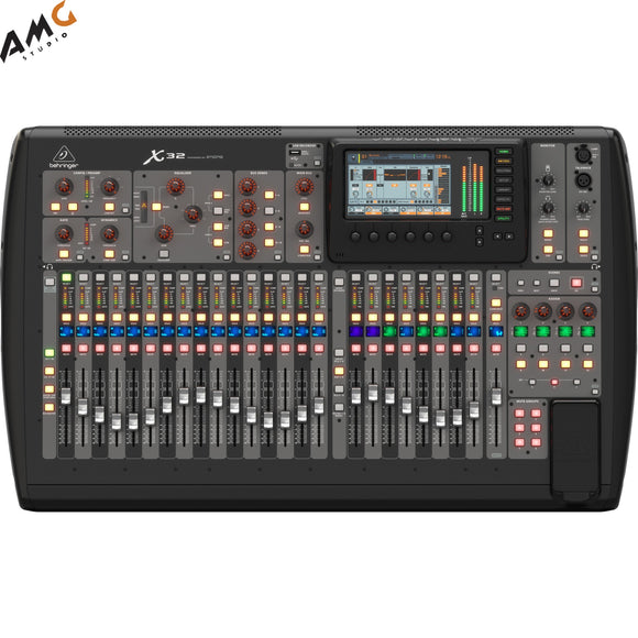 Behringer X32 40-Channel, 25-Bus Digital Mixing Console - Studio AMG