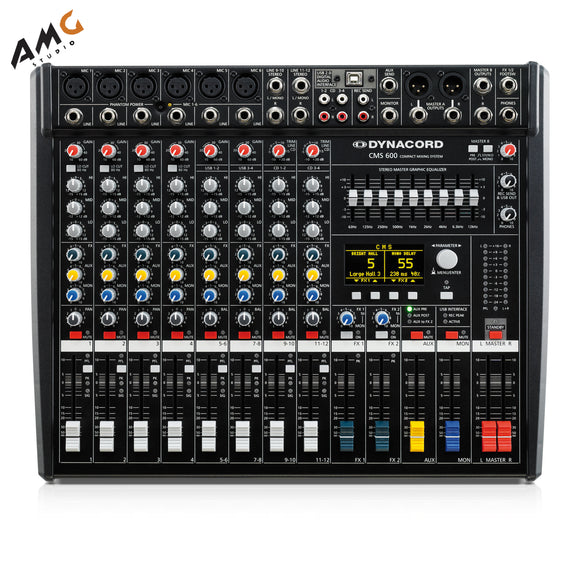 Dynacord CMS III 8-Channel Power Mixer DC-CMS600-3-MIG - Studio AMG