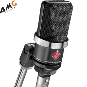 Neumann TLM-102 Large-Diaphragm Studio Condenser Microphone (Black | Nickel) - Studio AMG